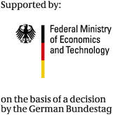 Supported by the German Federal Ministry of Economics and Technology