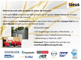 Smart Home Wohnphase 2013 Flyer
