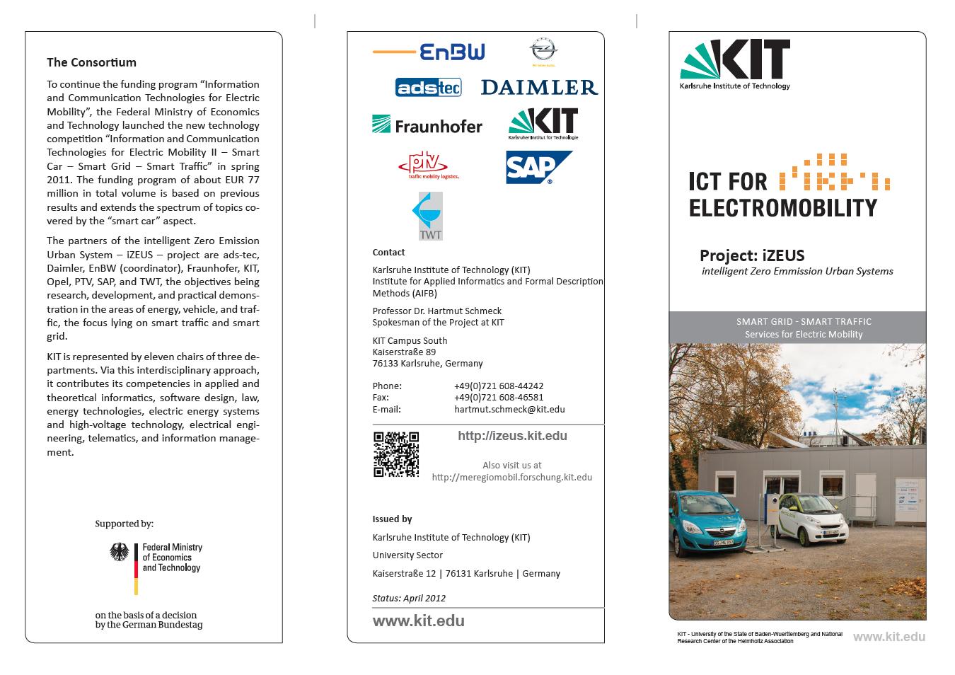 KIT Research Project iZEUS - iZEUS - intelligent Zero Emission Urban ...